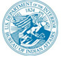 u.s. dept of interior bureau of indian affairs logo